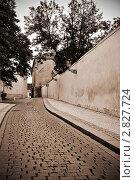 Улица старой Праги, тонировано (2010 год). Стоковое фото, фотограф Nickolay Khoroshkov / Фотобанк Лори