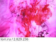 Движение чернил. Стоковое фото, фотограф Королькова Татьяна Викторовна / Фотобанк Лори