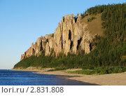 Купить «Ленские столбы», фото № 2831808, снято 2 августа 2008 г. (c) Иван Загайнов / Фотобанк Лори