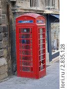 Мальта. Красная телефонная кабина (2011 год). Стоковое фото, фотограф Александр Карябин / Фотобанк Лори