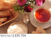 Купить «Завтрак в солнечный день», фото № 2835704, снято 27 августа 2011 г. (c) Екатерина Рыбина / Фотобанк Лори