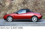 Купить «Красный спортивный автомобиль», фото № 2837696, снято 23 февраля 2008 г. (c) Елена Ковалева / Фотобанк Лори