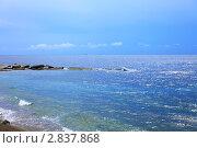 Купить «Южная часть Крымского полуострова, морской пейзаж. Украина», фото № 2837868, снято 13 сентября 2011 г. (c) Vitas / Фотобанк Лори