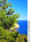 Купить «Южная часть Крымского полуострова, морской пейзаж . Украина.», фото № 2838520, снято 13 сентября 2011 г. (c) Vitas / Фотобанк Лори