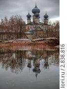 Тихвинский монастырь (2010 год). Стоковое фото, фотограф Михаил Тайманов / Фотобанк Лори