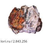 Купить «Образец окисленной золотосодержащей кварц-сульфидной руды», фото № 2843256, снято 5 сентября 2011 г. (c) Александр Алексеевич Миронов / Фотобанк Лори