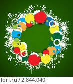 Новогодний фон. Стоковая иллюстрация, иллюстратор Виталий / Фотобанк Лори