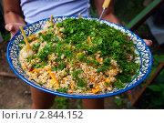 Купить «Блюдо с пловом», эксклюзивное фото № 2844152, снято 1 августа 2009 г. (c) Куликова Вероника / Фотобанк Лори