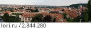 Купить «Панорама город Прага», фото № 2844280, снято 15 августа 2018 г. (c) Руслан Якубов / Фотобанк Лори