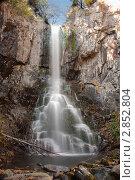 Купить «Водопад Беневской , Приморский край, Лозовский район», фото № 2852804, снято 2 октября 2011 г. (c) Андрей Пашков / Фотобанк Лори