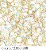 Купить «Абстрактный геометрический узор из цветных линий», иллюстрация № 2853888 (c) Владимир / Фотобанк Лори