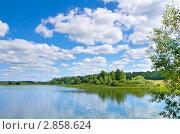 Купить «Летний пейзаж», фото № 2858624, снято 5 августа 2011 г. (c) Икан Леонид / Фотобанк Лори