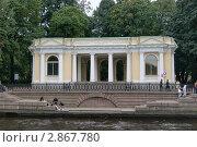 Санкт-Петербург. Павильон Карла Росси. (2011 год). Редакционное фото, фотограф Александр Карябин / Фотобанк Лори
