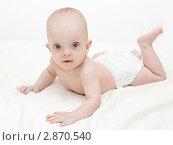 Малыш. Стоковое фото, фотограф Алла Ушакова / Фотобанк Лори