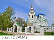 Купить «Никольская церковь», эксклюзивное фото № 2870612, снято 13 мая 2011 г. (c) Елена Коромыслова / Фотобанк Лори