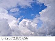 Купить «Голубое облачное небо», фото № 2876656, снято 3 сентября 2011 г. (c) Илюхина Наталья / Фотобанк Лори