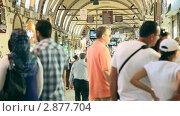 Купить «Гранд базар в Стамбуле», видеоролик № 2877704, снято 16 октября 2011 г. (c) Кирилл Трифонов / Фотобанк Лори