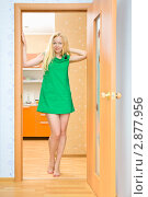 Купить «Портрет молодой девушки дома», фото № 2877956, снято 20 мая 2019 г. (c) Петр Малышев / Фотобанк Лори