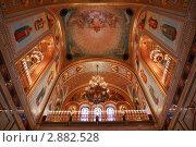 Купить «Интерьер храма Христа Спасителя», фото № 2882528, снято 25 января 2010 г. (c) Losevsky Pavel / Фотобанк Лори