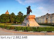 Купить «Медный всадник, памятник Петру Первому», фото № 2882648, снято 22 мая 2010 г. (c) Losevsky Pavel / Фотобанк Лори