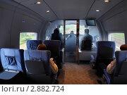 Купить «Вагон скоростного поезда», фото № 2882724, снято 23 мая 2010 г. (c) Losevsky Pavel / Фотобанк Лори
