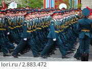Купить «Офицеры вооруженных сил РФ на репетиции парада в честь победы в Великой Отечественной войне», фото № 2883472, снято 6 мая 2010 г. (c) Losevsky Pavel / Фотобанк Лори
