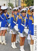 Девушки барабанщицы (2010 год). Редакционное фото, фотограф Александр Романов / Фотобанк Лори