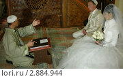 Купить «Свадебная церемония крымских татар в мечети», видеоролик № 2884944, снято 18 октября 2011 г. (c) Владимир Никулин / Фотобанк Лори