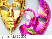 Купить «Карнавальные маски», фото № 2885500, снято 25 июня 2019 г. (c) Elnur / Фотобанк Лори