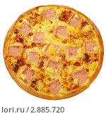 Гавайская пицца. Стоковое фото, фотограф Сергей Матвеев / Фотобанк Лори