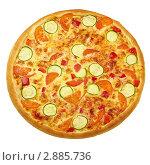 Вегетарианская пицца. Стоковое фото, фотограф Сергей Матвеев / Фотобанк Лори