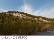 Река Вишера. ск. Источный Камень (2011 год). Редакционное фото, фотограф Павел Спирин / Фотобанк Лори