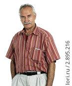 Купить «Пожилой мужчина», фото № 2895216, снято 7 июня 2020 г. (c) Marina Appel / Фотобанк Лори