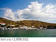 Купить «Крым. В бухте Балаклавы», фото № 2898032, снято 18 сентября 2011 г. (c) Наталья Белотелова / Фотобанк Лори
