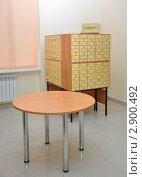 Купить «Библиотека, алфавитный каталог», фото № 2900492, снято 7 октября 2011 г. (c) Анна Мартынова / Фотобанк Лори
