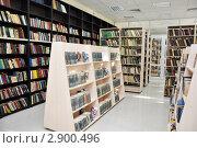 Купить «Интерьер библиотеки», фото № 2900496, снято 7 октября 2011 г. (c) Анна Мартынова / Фотобанк Лори