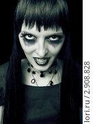 Купить «Девушка в образе вампира», фото № 2908828, снято 20 августа 2011 г. (c) katalinks / Фотобанк Лори