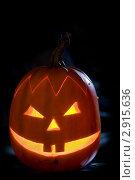 Купить «Тыква на Хэллоуин», фото № 2915636, снято 29 октября 2011 г. (c) Ольга Денисова / Фотобанк Лори