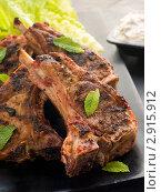 Купить «Жареное мясо ягненка со специями. Chaamp Lajawab», фото № 2915912, снято 21 марта 2007 г. (c) Monkey Business Images / Фотобанк Лори