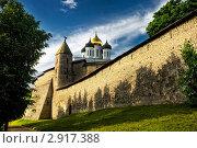 Псковский Кремль (2011 год). Редакционное фото, фотограф Терещенко Марина / Фотобанк Лори