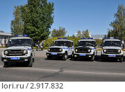 Купить «Полицейские автомобили», эксклюзивное фото № 2917832, снято 15 сентября 2011 г. (c) Free Wind / Фотобанк Лори