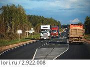 Федеральная магистральная автомобильная дорога М-9 «Балтия». Участок Москва — Волоколамск, эксклюзивное фото № 2922008, снято 3 сентября 2011 г. (c) lana1501 / Фотобанк Лори