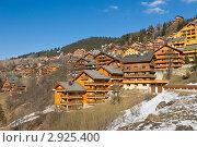 Купить «Мерибель – известнейший горнолыжный курорт Франции», фото № 2925400, снято 8 марта 2008 г. (c) Дмитрий Наумов / Фотобанк Лори