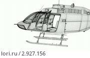 Купить «Виртуальная модель вертолета», видеоролик № 2927156, снято 17 августа 2009 г. (c) Светлана Полушкина / Фотобанк Лори