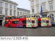 Купить «Брюссель. Туристические автобусы», эксклюзивное фото № 2929416, снято 23 июля 2011 г. (c) Илюхина Наталья / Фотобанк Лори