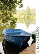 Лодка на озере (2010 год). Стоковое фото, фотограф Федоров Владимир / Фотобанк Лори