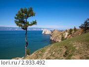 Купить «Байкал, остров Ольхон, мыс Бурхан», фото № 2933492, снято 12 августа 2011 г. (c) Сергей Белов / Фотобанк Лори