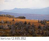Купить «Национальный парк Зюраткуль. Нургуш», фото № 2935352, снято 16 октября 2011 г. (c) Andrey M / Фотобанк Лори