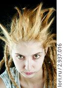 Девушка со странной прической. Стоковое фото, фотограф bashta / Фотобанк Лори