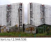 Купить «Новокосино. Москва. Городские виды», эксклюзивное фото № 2944536, снято 1 ноября 2011 г. (c) lana1501 / Фотобанк Лори